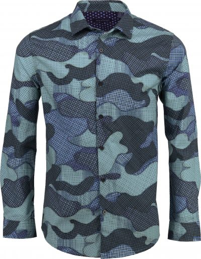 Norman_hemd_punkte_camouflage_muster_freizeit_casual_schiefer_slate
