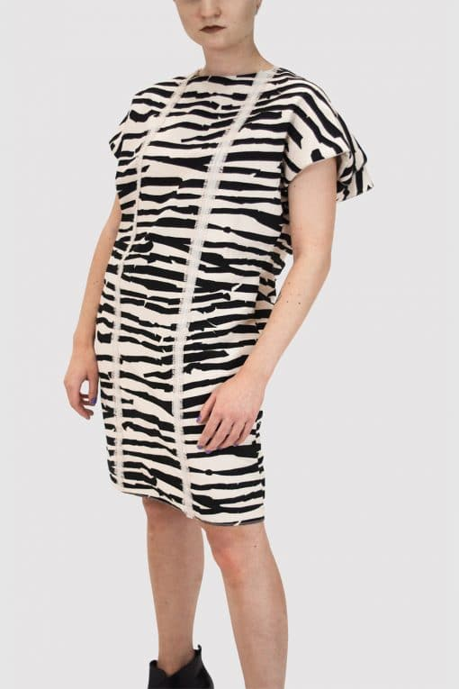 Tunic-with-Animal-print-WF20-21 collection designer